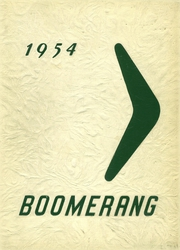 Page 1, 1954 Edition, Surrattsville High School - Boomerang Yearbook (Clinton, MD) online yearbook collection