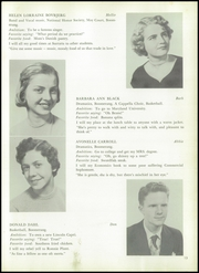 Page 17, 1954 Edition, Surrattsville High School - Boomerang Yearbook (Clinton, MD) online yearbook collection