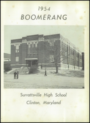 Page 5, 1954 Edition, Surrattsville High School - Boomerang Yearbook (Clinton, MD) online yearbook collection