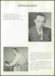 Page 9, 1954 Edition, Surrattsville High School - Boomerang Yearbook (Clinton, MD) online yearbook collection
