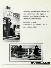 Page 6, 1975 Edition, Le Lycee Francais de Los Angeles - Actualites Yearbook (Los Angeles, CA) online yearbook collection