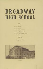 Page 11, 1911 Edition, Broadway High School - Sealth Yearbook (Seattle, WA) online yearbook collection