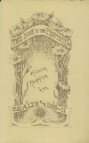 Page 5, 1911 Edition, Broadway High School - Sealth Yearbook (Seattle, WA) online yearbook collection