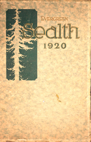 Page 1, 1920 Edition, Broadway High School - Sealth Yearbook (Seattle, WA) online yearbook collection