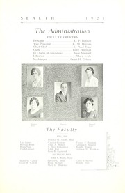 Page 15, 1923 Edition, Broadway High School - Sealth Yearbook (Seattle, WA) online yearbook collection