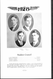 Page 15, 1928 Edition, Broadway High School - Sealth Yearbook (Seattle, WA) online yearbook collection