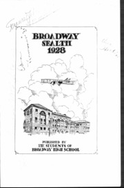 Page 5, 1928 Edition, Broadway High School - Sealth Yearbook (Seattle, WA) online yearbook collection