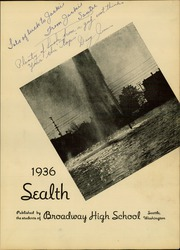 Page 7, 1936 Edition, Broadway High School - Sealth Yearbook (Seattle, WA) online yearbook collection