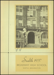 Page 5, 1937 Edition, Broadway High School - Sealth Yearbook (Seattle, WA) online yearbook collection