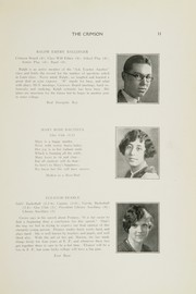Page 13, 1928 Edition, East Providence High School - Crimson Yearbook (East Providence, RI) online yearbook collection