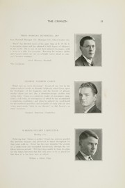 Page 17, 1928 Edition, East Providence High School - Crimson Yearbook (East Providence, RI) online yearbook collection