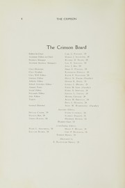 Page 6, 1928 Edition, East Providence High School - Crimson Yearbook (East Providence, RI) online yearbook collection