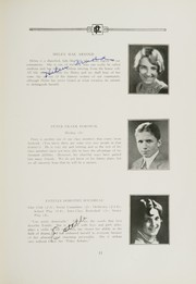 Page 15, 1929 Edition, East Providence High School - Crimson Yearbook (East Providence, RI) online yearbook collection