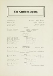 Page 7, 1934 Edition, East Providence High School - Crimson Yearbook (East Providence, RI) online yearbook collection