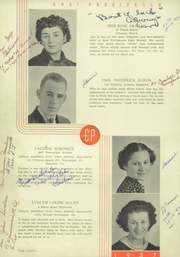 Page 16, 1937 Edition, East Providence High School - Crimson Yearbook (East Providence, RI) online yearbook collection