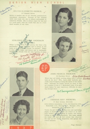 Page 17, 1937 Edition, East Providence High School - Crimson Yearbook (East Providence, RI) online yearbook collection