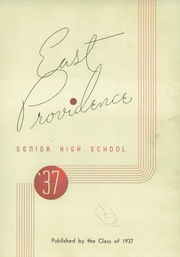 Page 5, 1937 Edition, East Providence High School - Crimson Yearbook (East Providence, RI) online yearbook collection