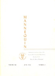 Page 5, 1952 Edition, Sarah Hale Vocational High School - Mannequin Yearbook (Brooklyn, NY) online yearbook collection
