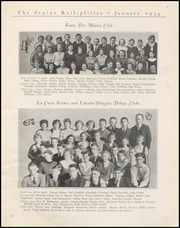 Page 13, 1934 Edition, Abraham Lincoln High School - Railsplitter Yearbook (Des Moines, IA) online yearbook collection