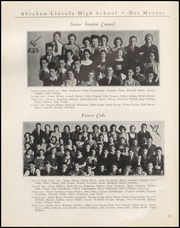 Page 14, 1934 Edition, Abraham Lincoln High School - Railsplitter Yearbook (Des Moines, IA) online yearbook collection
