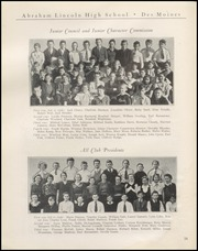 Page 16, 1934 Edition, Abraham Lincoln High School - Railsplitter Yearbook (Des Moines, IA) online yearbook collection