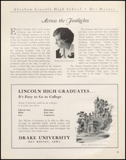Page 22, 1934 Edition, Abraham Lincoln High School - Railsplitter Yearbook (Des Moines, IA) online yearbook collection
