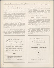 Page 25, 1934 Edition, Abraham Lincoln High School - Railsplitter Yearbook (Des Moines, IA) online yearbook collection