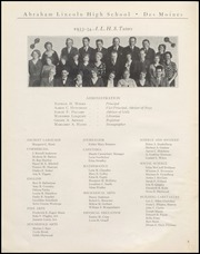 Page 6, 1934 Edition, Abraham Lincoln High School - Railsplitter Yearbook (Des Moines, IA) online yearbook collection