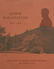 Abraham Lincoln High School - Railsplitter Yearbook (Des Moines, IA) online yearbook collection, 1936 Edition, Page 1