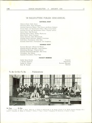 Page 13, 1938 Edition, Abraham Lincoln High School - Railsplitter Yearbook (Des Moines, IA) online yearbook collection