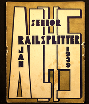 Abraham Lincoln High School - Railsplitter Yearbook (Des Moines, IA) online yearbook collection, 1939 Edition, Page 1