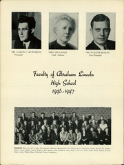 Page 12, 1947 Edition, Abraham Lincoln High School - Railsplitter Yearbook (Des Moines, IA) online yearbook collection