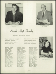 Page 10, 1958 Edition, Abraham Lincoln High School - Railsplitter Yearbook (Des Moines, IA) online yearbook collection