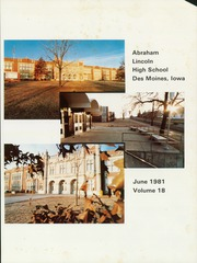 Page 5, 1981 Edition, Abraham Lincoln High School - Railsplitter Yearbook (Des Moines, IA) online yearbook collection