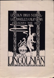 Page 7, 1923 Edition, Abraham Lincoln High School - Lincolnian Yearbook (Los Angeles, CA) online yearbook collection