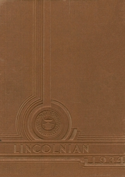 Abraham Lincoln High School - Lincolnian Yearbook (Los Angeles, CA) online yearbook collection, 1934 Edition, Page 1