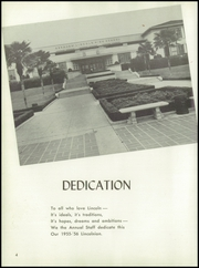 Page 8, 1956 Edition, Abraham Lincoln High School - Lincolnian Yearbook (Los Angeles, CA) online yearbook collection