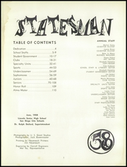 Page 5, 1958 Edition, Abraham Lincoln High School - Statesman Yearbook (San Diego, CA) online yearbook collection