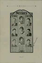 Page 14, 1928 Edition, Lick Wilmerding High School - Commencement Yearbook (San Francisco, CA) online yearbook collection