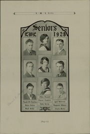 Page 15, 1928 Edition, Lick Wilmerding High School - Commencement Yearbook (San Francisco, CA) online yearbook collection