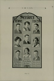 Page 16, 1928 Edition, Lick Wilmerding High School - Commencement Yearbook (San Francisco, CA) online yearbook collection