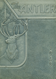 Page 1, 1939 Edition, White Deer High School - Antler Yearbook (White Deer, TX) online yearbook collection