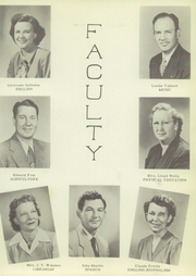 Page 11, 1951 Edition, White Deer High School - Antler Yearbook (White Deer, TX) online yearbook collection