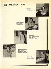 Page 13, 1953 Edition, White Deer High School - Antler Yearbook (White Deer, TX) online yearbook collection