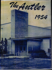 1954 Edition, White Deer High School - Antler Yearbook (White Deer, TX)