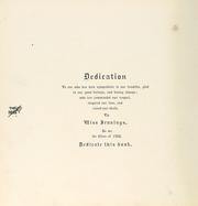 Page 10, 1900 Edition, Harpeth Hall School - Milestones Iris Yearbook (Nashville, TN) online yearbook collection