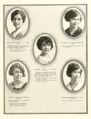 Page 37, 1925 Edition, Harpeth Hall School - Milestones Iris Yearbook (Nashville, TN) online yearbook collection