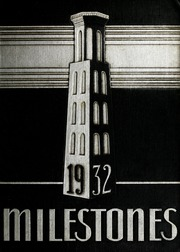 Page 1, 1932 Edition, Harpeth Hall School - Milestones Iris Yearbook (Nashville, TN) online yearbook collection