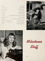Page 8, 1945 Edition, Harpeth Hall School - Milestones Iris Yearbook (Nashville, TN) online yearbook collection