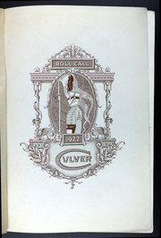 Page 5, 1922 Edition, Culver Military Academy - Roll Call Yearbook (Culver, IN) online yearbook collection